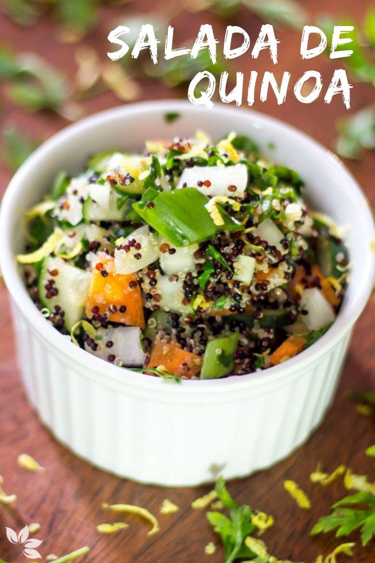 Salada de Quinoa Negra com Amaranto