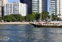 Passeio de veleiro pela Orla de Fortaleza
