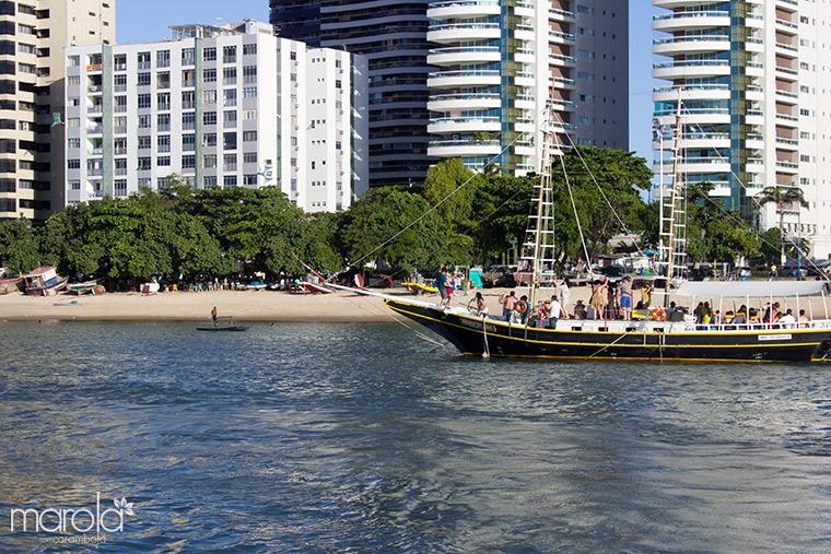 Embarcação na Orla de Fortaleza