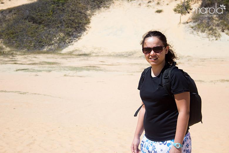 Eloah indo para Canoa Quebrada