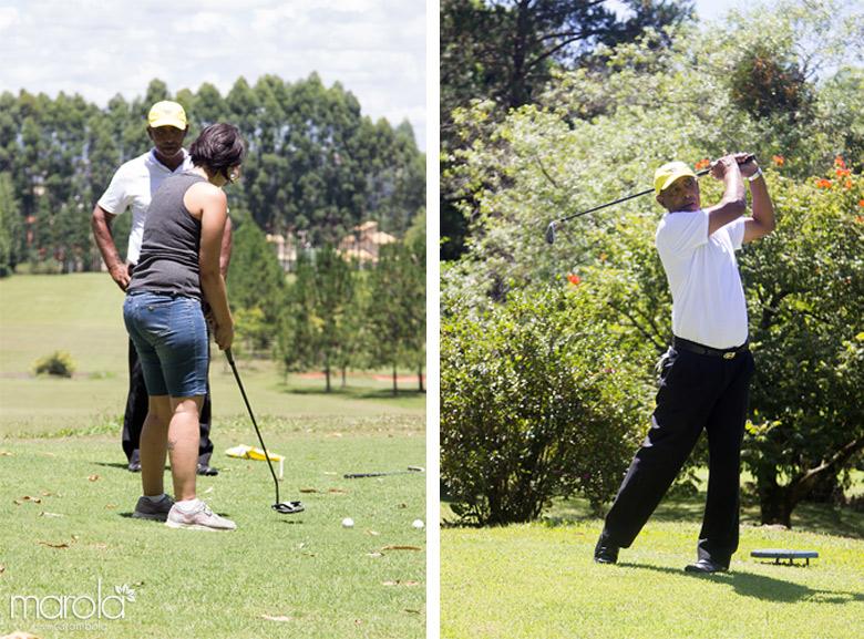 Aula de Golf no Garden Hill Small Resort em São João del Rei