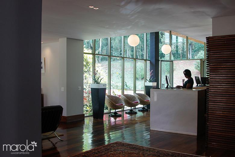 Check in do Garden Hill Small Resort em São João del Rei