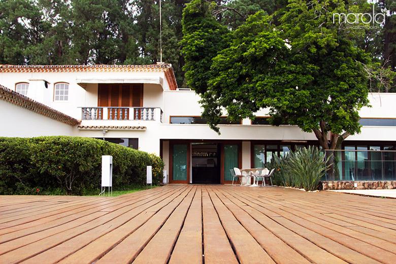 Restaurante do Garden Hill Small Resort em São João del Rei