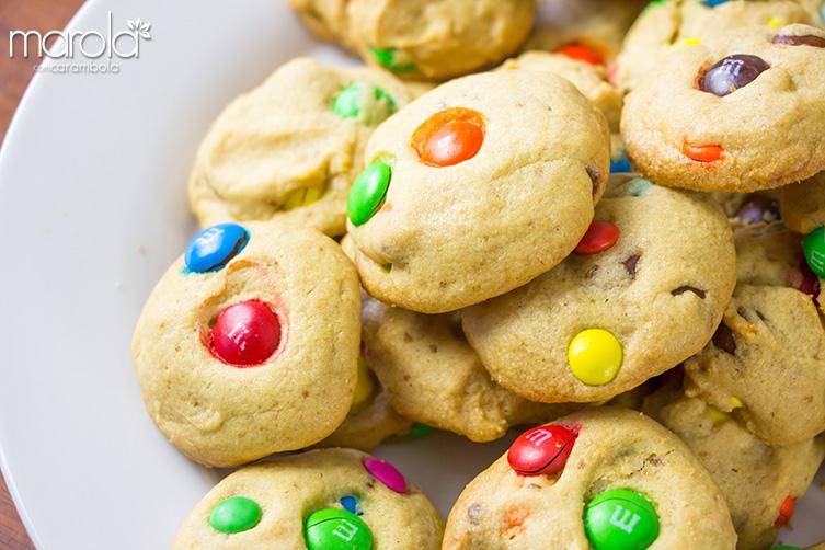 Receita de Cookies de MM'S