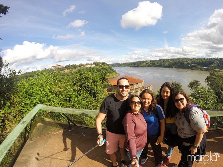 Marco das Três Fronteiras - Viagem para Foz do Iguaçu