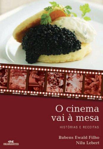 livros de cinema e gastronomia