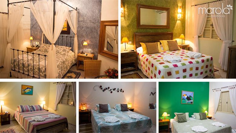 Confira os outros quartos do Hotel Pousada Aguas de Bonito