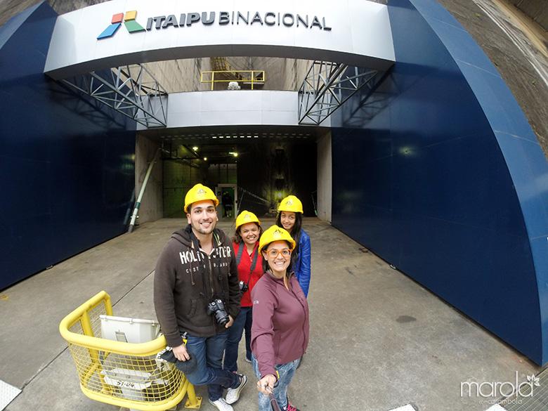 Visita técnica na Itaipu Binacional - Foz do Iguaçu