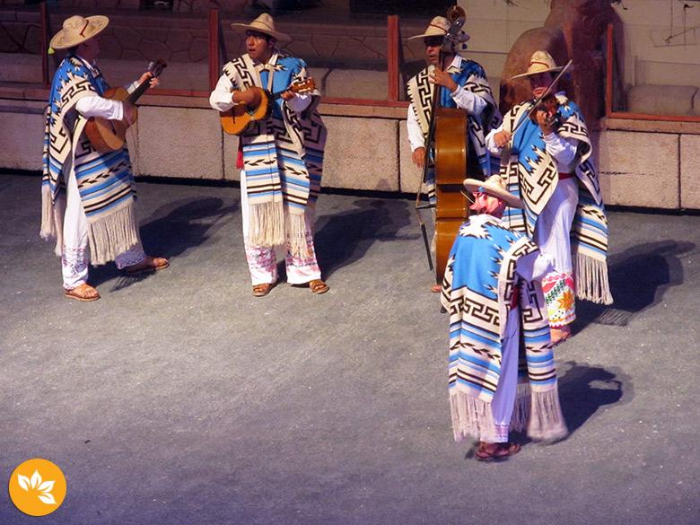 Show no Xcaret em Cancún