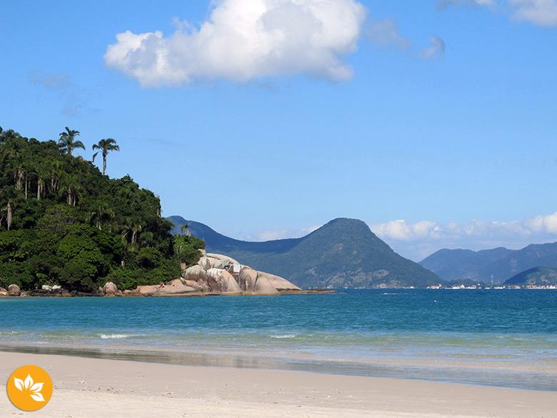 Praias do sul de Florianópolis - Ilha do Campeche