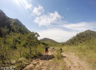 Trekking na serra de São José