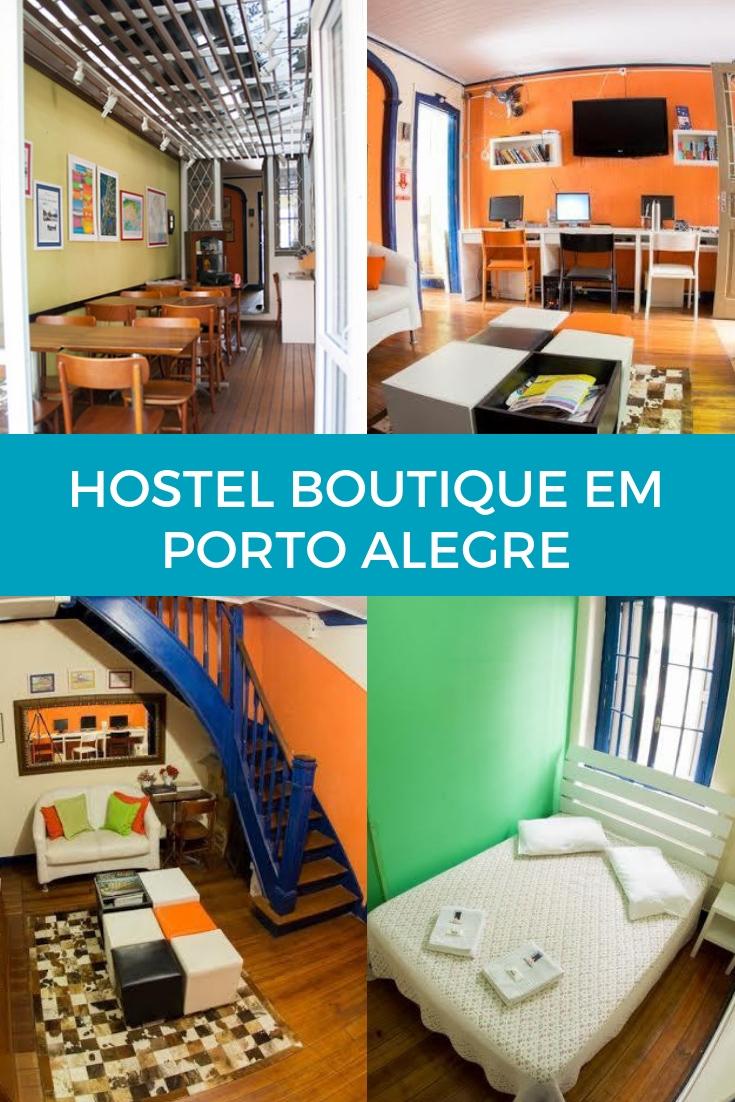 Hostel Boutique - A charmosa hospedagem em Porto Alegre