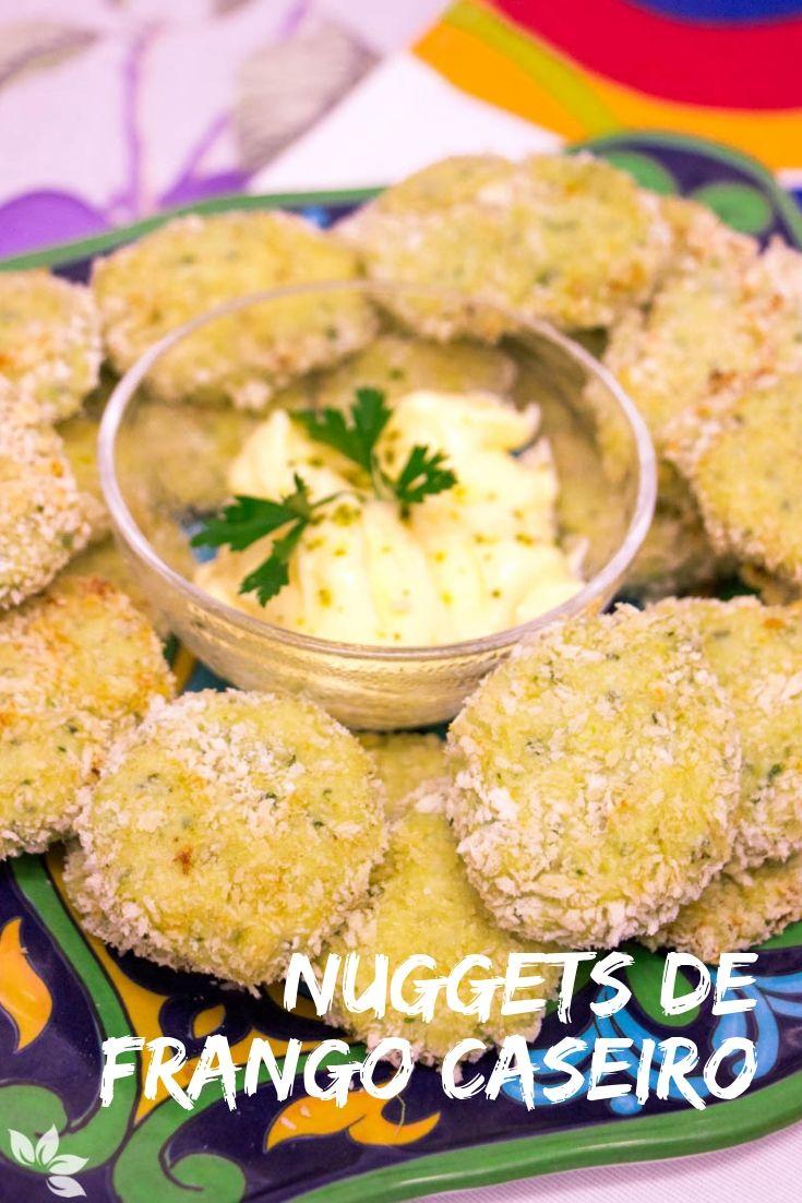Receita de Nuggets de Frango Caseiro