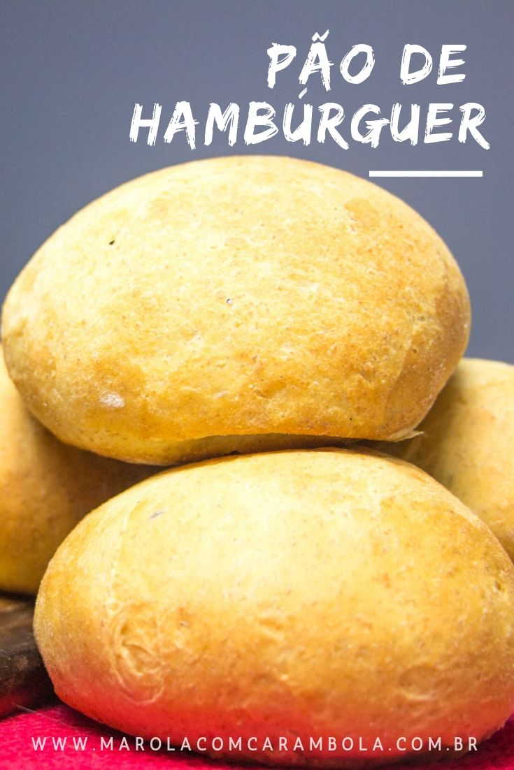 Receita de Pão de Hambúrguer Caseiro