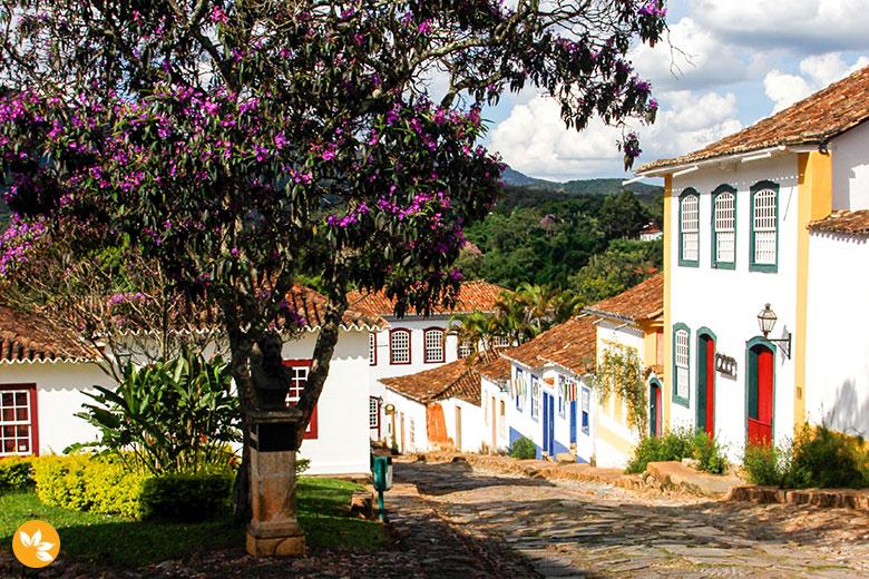 Cidade de Tiradentes em Minas Gerais
