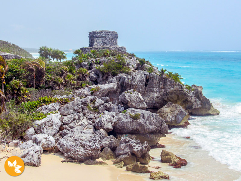 Tulum e as ruínas Maias