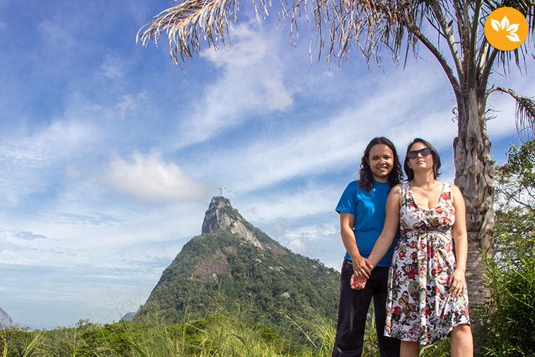 Mirante Dona Marta no Rio de Janeiro