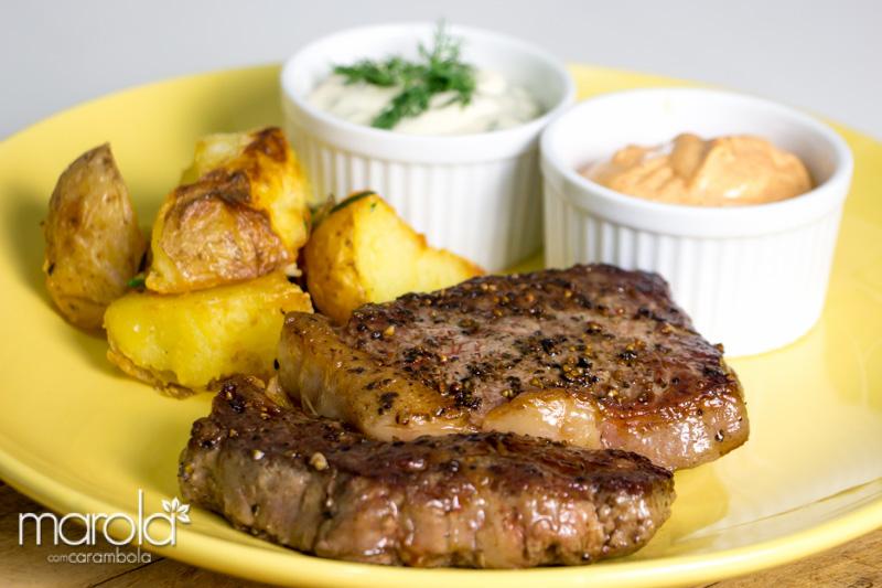 Receita de Bife Ancho - Chef Henrique Fogaça