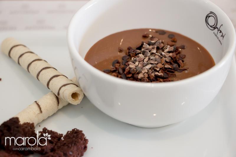 Sopa de Brigadeiro do restaurante O Famoso Brigadeiro