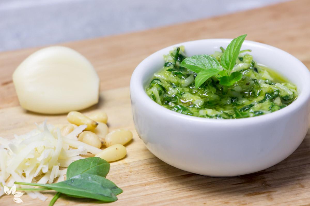 Receita de Molho Pesto