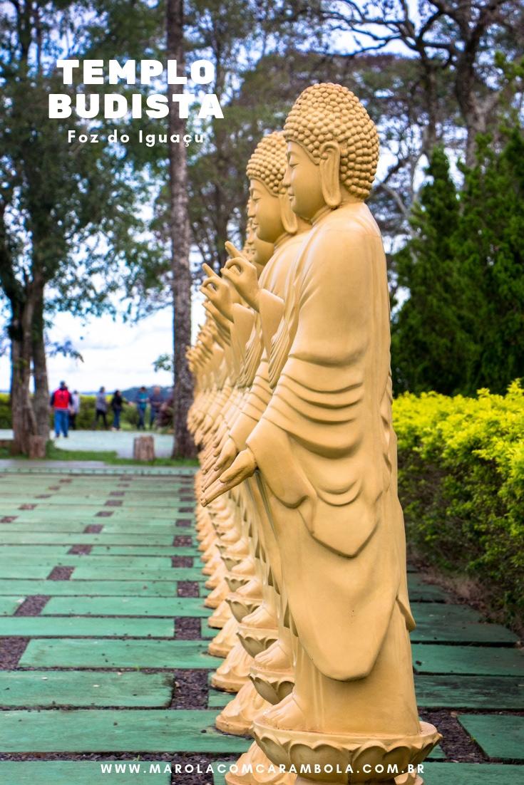 Templo Budista de Foz do Iguaçu - Um passeio para apreciar e relaxar. O Templo Chen Tien em Foz é considerado o 2º maior templo budista da America Latina