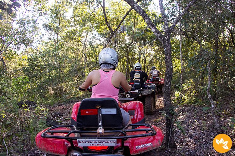 Roteiro de viagem para Bonito - Quadriciclo Rotta Zagaia