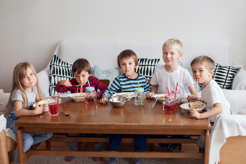 Restaurantes para levar as crianças