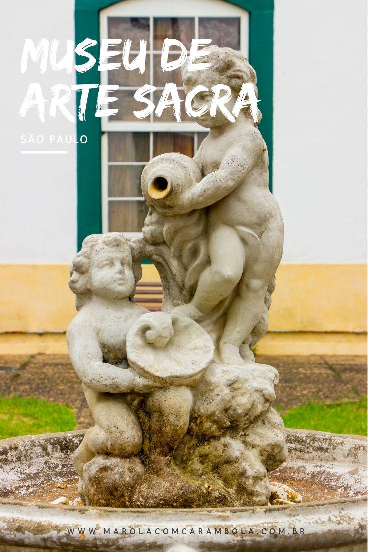 O Museu de Arte Sacra de São Paulo é um dos principais do Brasil com o foco na conservação e exposição de objetos sacros. A coleção tem 18 mil obras! Valeu muito a pena a visita.