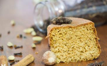 Receita de bolo de especiarias