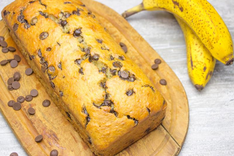 Bolo de Banana - Banana Bread