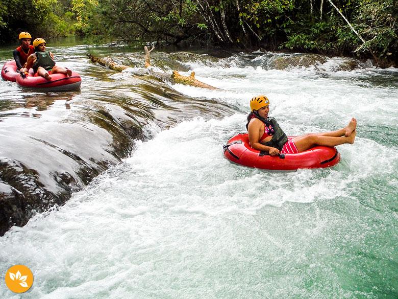 Viagem para Bonito - Boia Cross no Parque Ecológico do Rio Formoso