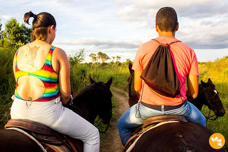 Bonito - Cavalgada no Parque Ecológico Rio Formoso