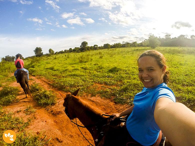 Viagem para Bonito - Cavalgada no Parque Ecológico Rio Formoso