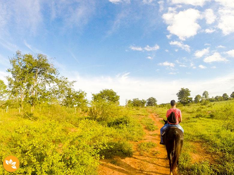 Cavalgada no Parque Ecológico Rio Formoso