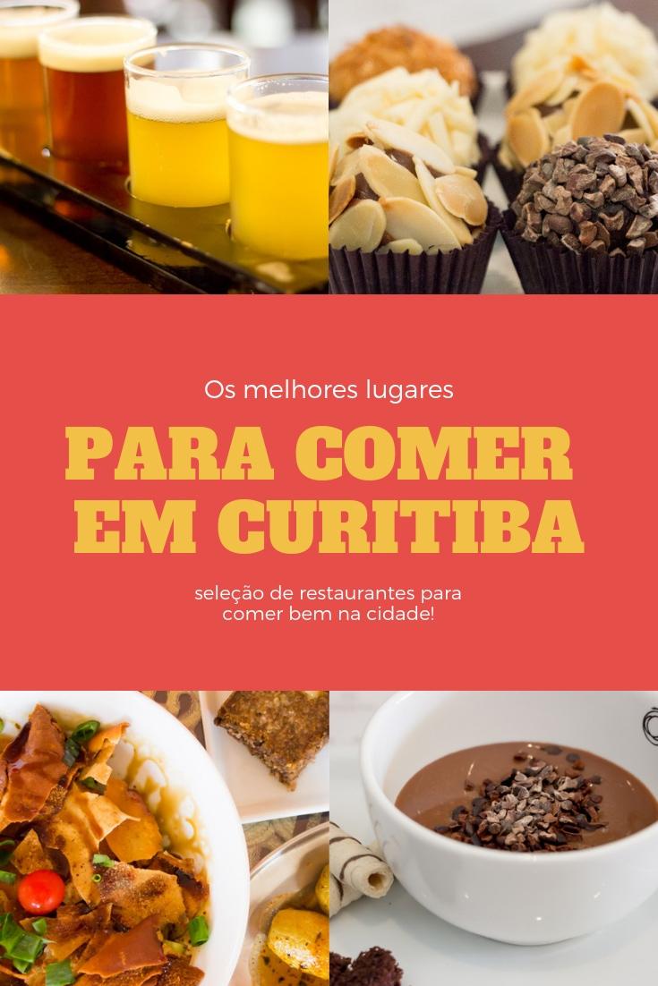 Os melhores lugares para comer em Curitiba