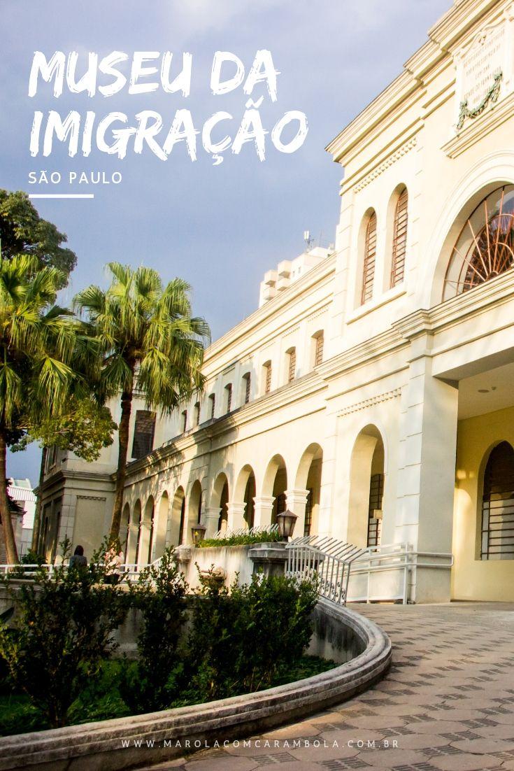 Você conhece o Museu da Imigração de São Paulo? Um lugar recheado de histórias, curiosidades, um acervo com mais de 6 mil certidões de 60 etnias diferentes.
