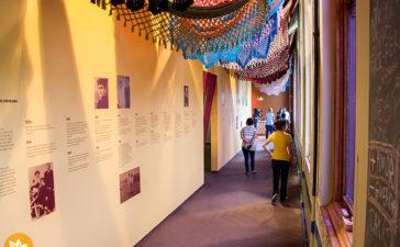 Museu da Língua Portuguesa em São Paulo - Exposição de Câmara Cascudo