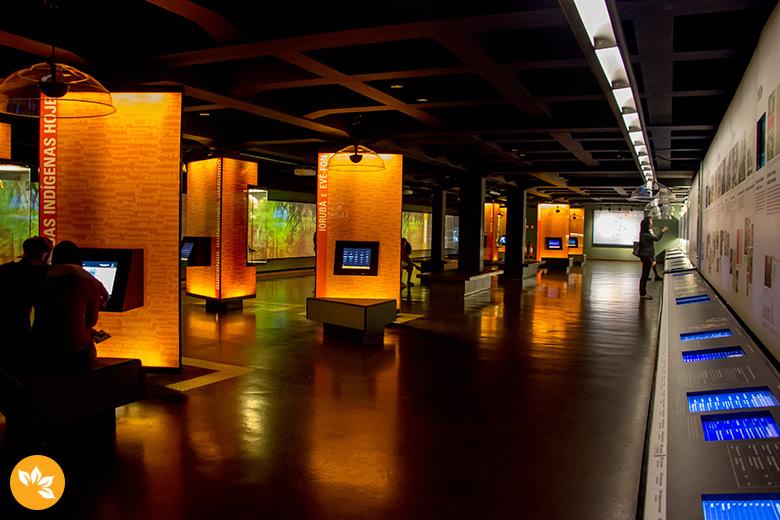Museu da Língua Portuguesa em São Paulo