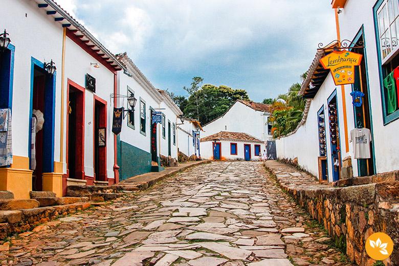 Caminhada pelo pelo Centro Histórico de Tiradentes, MG