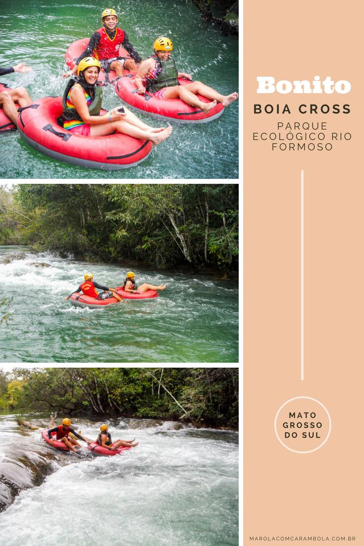 Parque Ecológico Rio Formoso - Um dos passeios em Bonito que você não pode deixar de fazer é o Boia Cross! Aventura nas águas cristalinas do Rio Formoso.