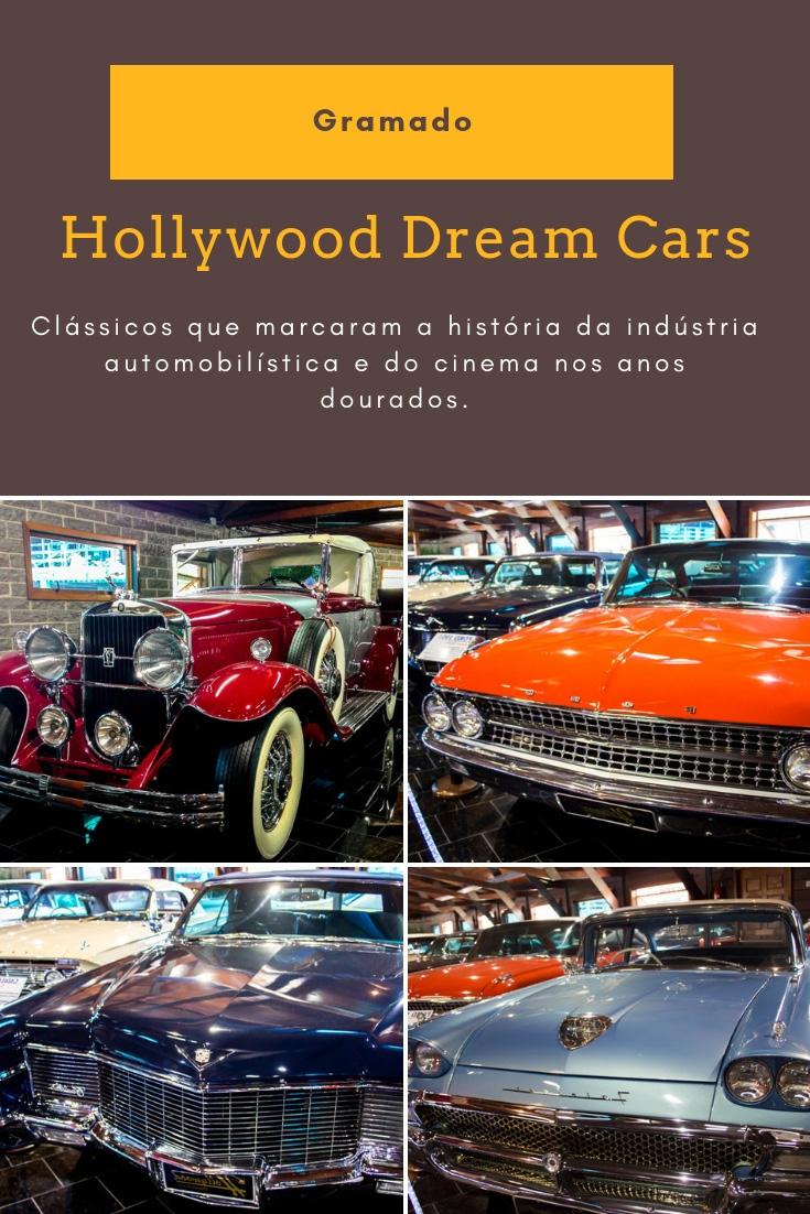 O museu Hollywood Dream Cars é parada obrigatória para os amantes de carros antigos que estão programando uma viagem para Gramado.