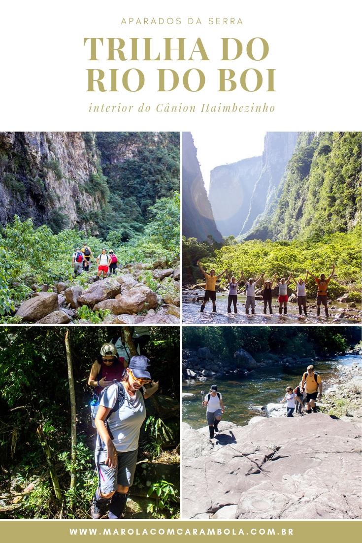 Trilha do Rio do Boi - O interior do Cânion Itaimbezinho