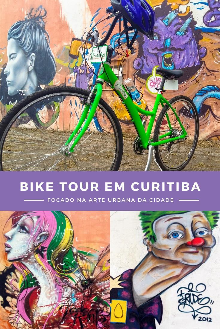 Cicloturismo em Curitiba - Bike Tour com Arte Urbana