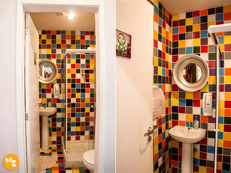 Oztel no Rio de Janeiro - Banheiro Coletivo