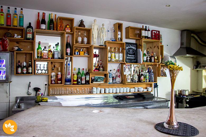 Oztel - Hostel no Rio de Janeiro - Bar