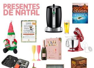 Presentes de Natal para todos os gostos e bolsos