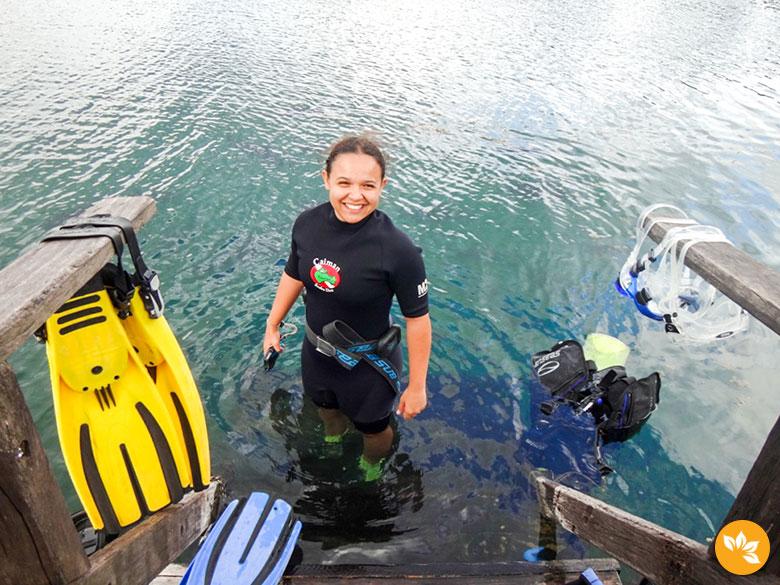 Mergulho com Cilindro em Bonito - Caiman Scuba Dive