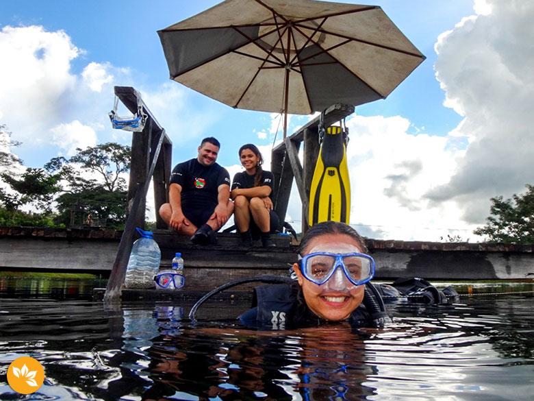 Mergulho com Cilindro em Bonito