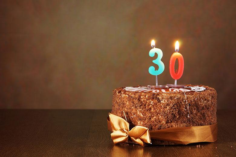 Blank Birthday Cake Template