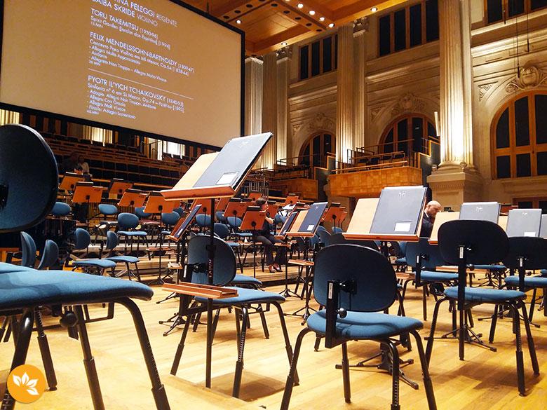 30 ideias para comemorar aniversario - Concerto na Sala São Paulo